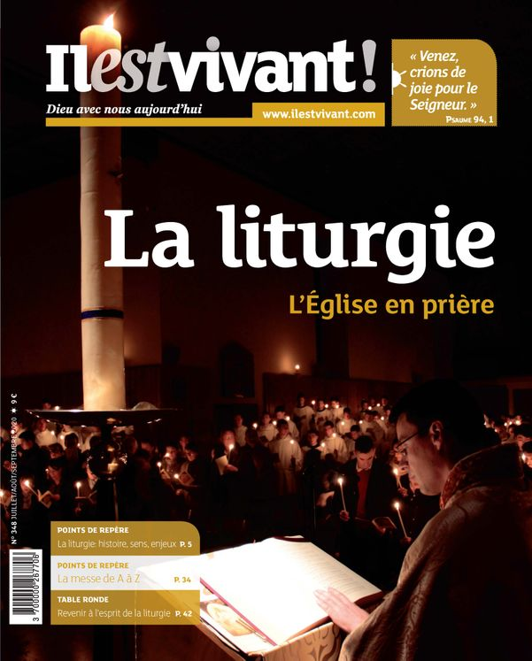 N°348 - La liturgie - juillet-août-septembre 2020