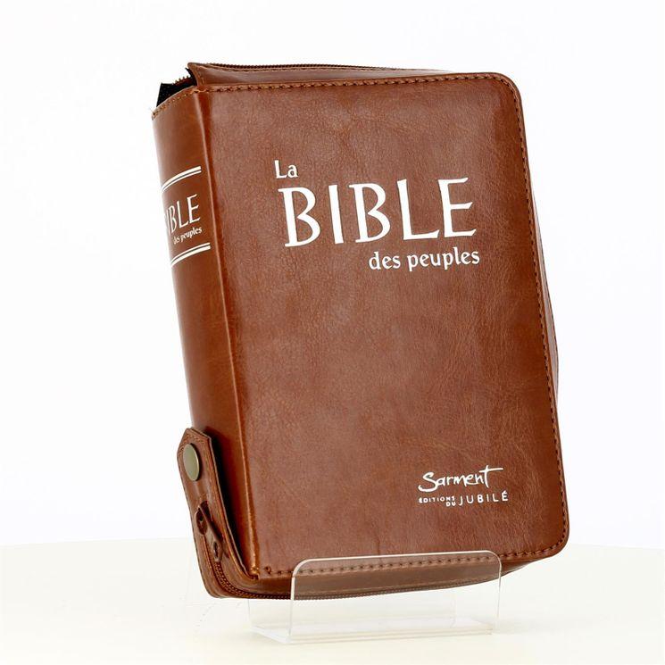 La Bible des peuples (format poche - simili cuir)