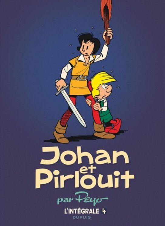 Johan et Pirlouit l´intégrale Tome 4