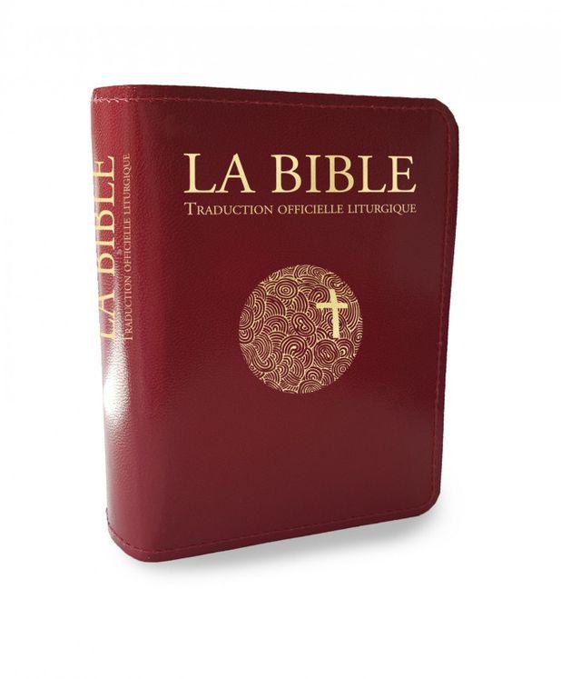 Bible traduction officielle liturgique - Edition voyage zippée