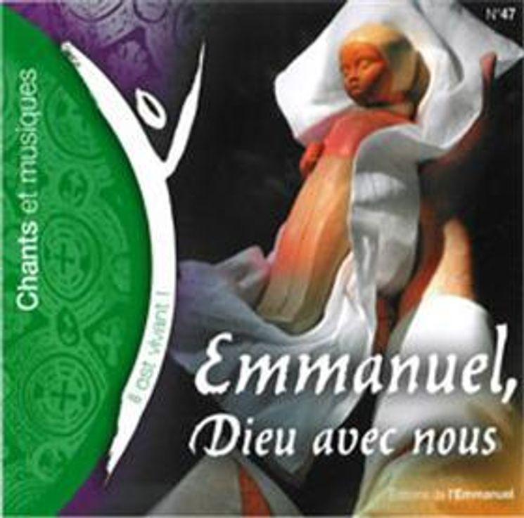 CD Il est vivant ! Emmanuel, Dieu avec nous (CD de Noël) - CD 47