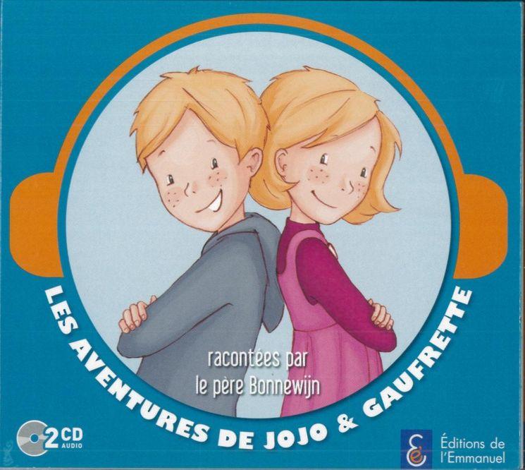 Jojo et Gaufrette - 2 CD audio