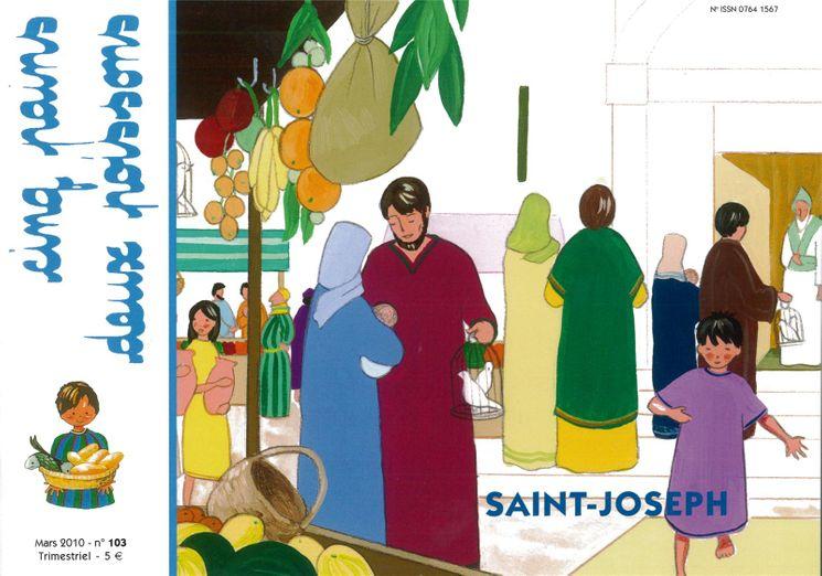 Cinq pains deux poissons 103 - SAINT JOSEPH