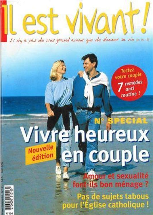 n°194 - Il est vivant - Vivre heureux en couple