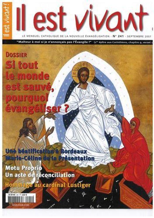 N°241 - Si tout le monde est sauvé pourquoi évangéliser