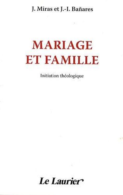 Mariage et famille