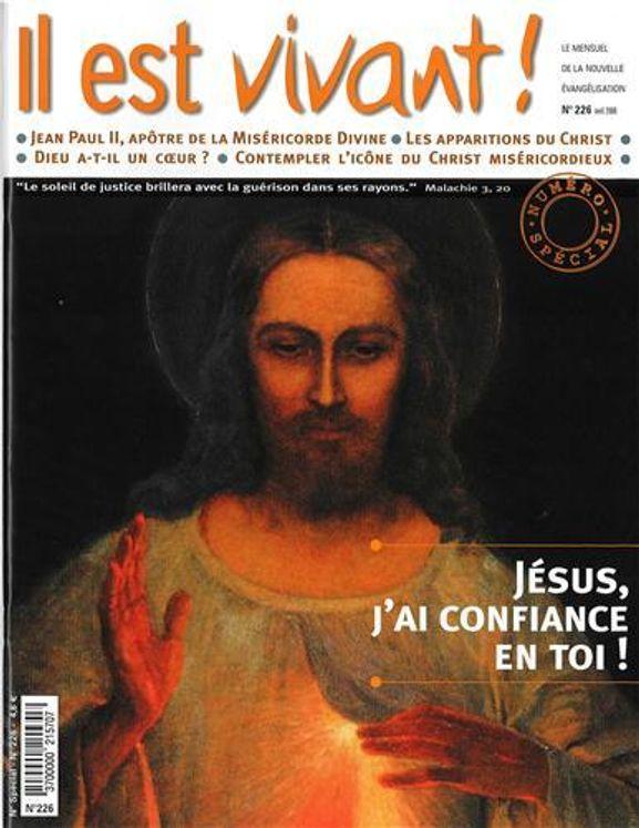 Pack de 50 Il est vivant n° 226 - Jésus, j´ai confiance en toi !